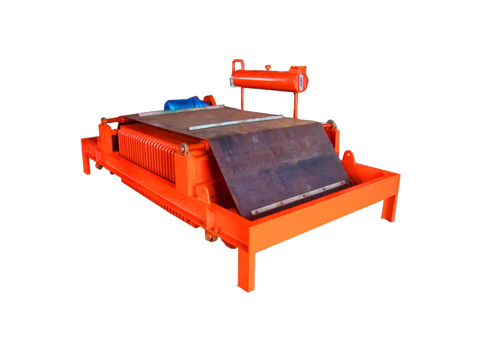 RCDF 系列油冷自卸式电磁除铁器